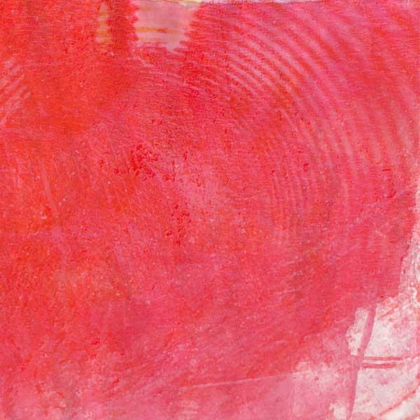 Red Circular Texture