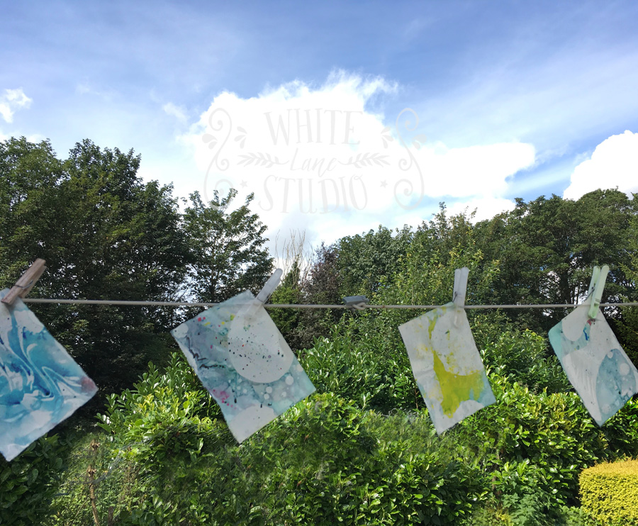 artists washing line