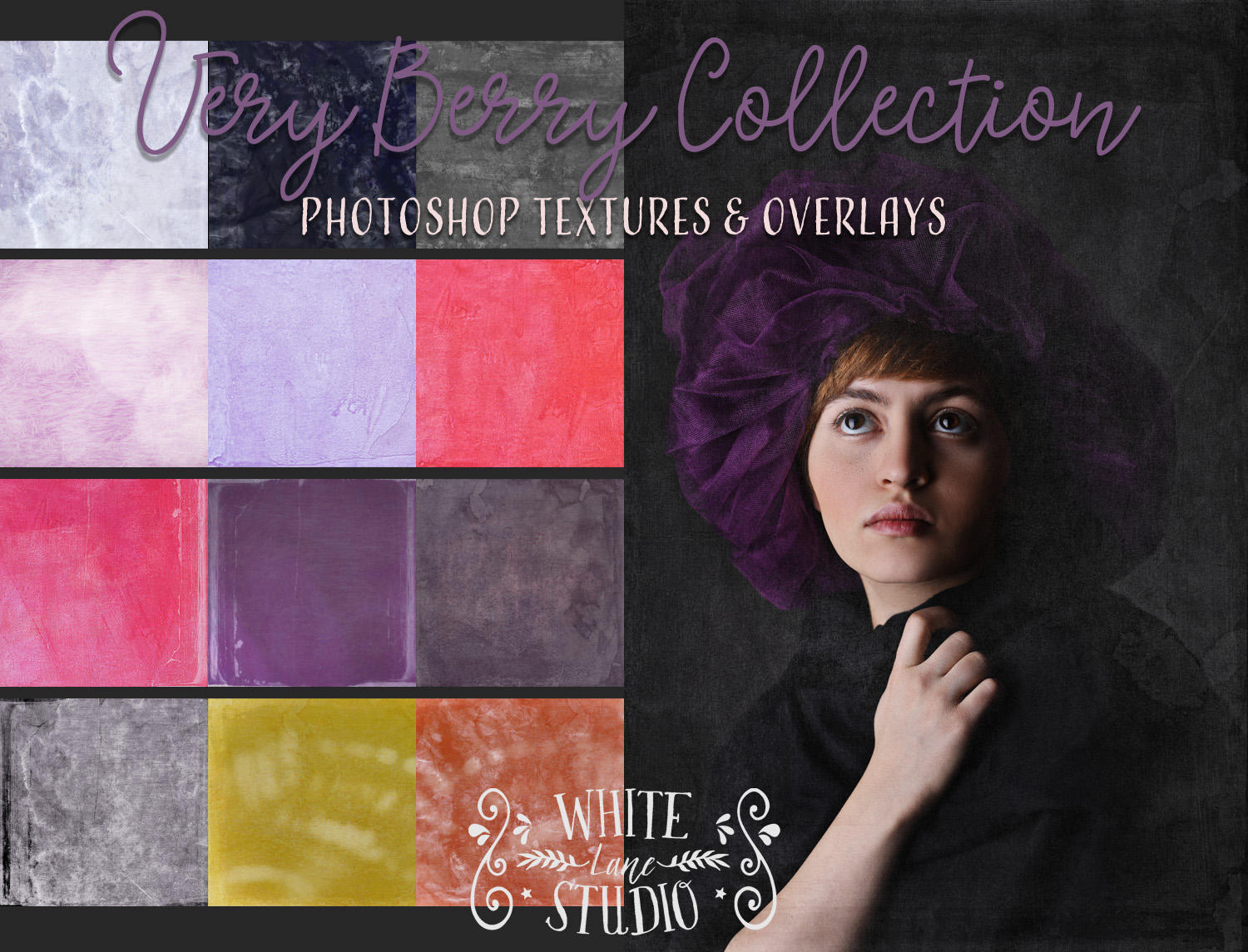 Very Berry Textures Collection