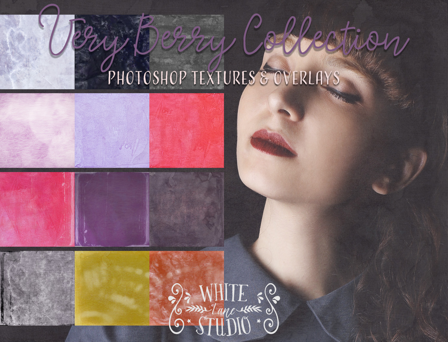 WLS Very Berry fine art textures