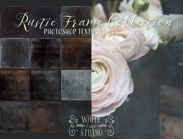 WLS Rustic Frame fine art textures