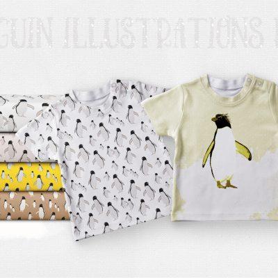 Penguin Illustrations Pack