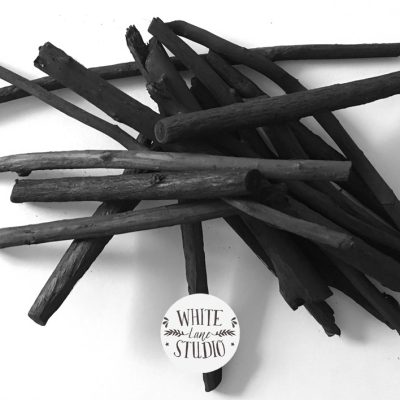 Homemade Willow Charcoal Results