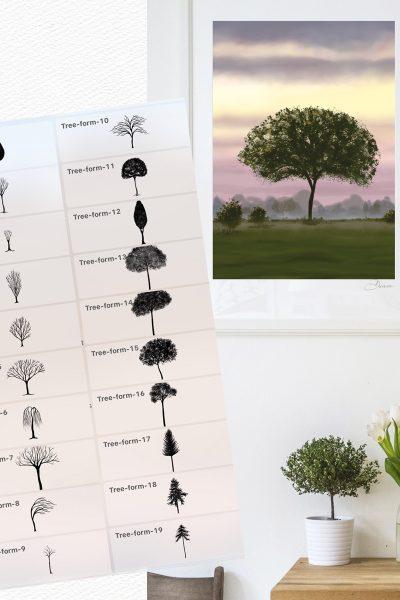 Garden Trees & Scenes kit